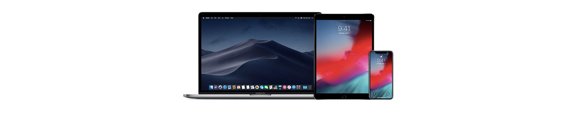 iPhone Xs, iPhone Xr, MacBook Air, Mac mini en iPad Pro