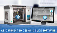 assortiment 3D design 7 slice software